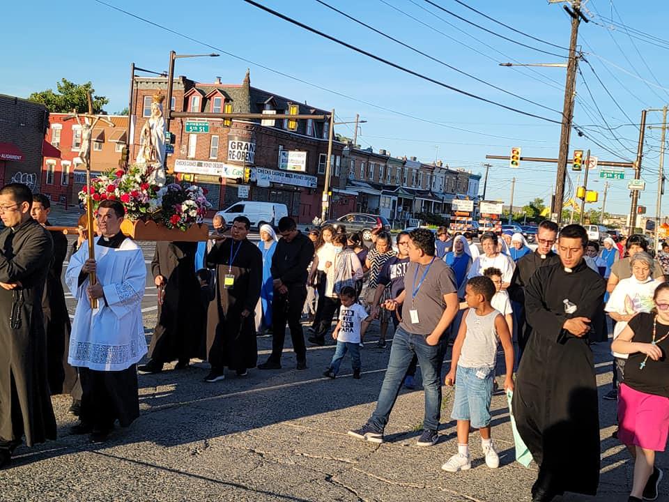 Estados Unidos - 5° día de la misión popular en Filadelfia