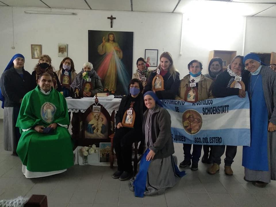 Argentina - Bendición de las imágenes peregrinas en Santiago del Estero