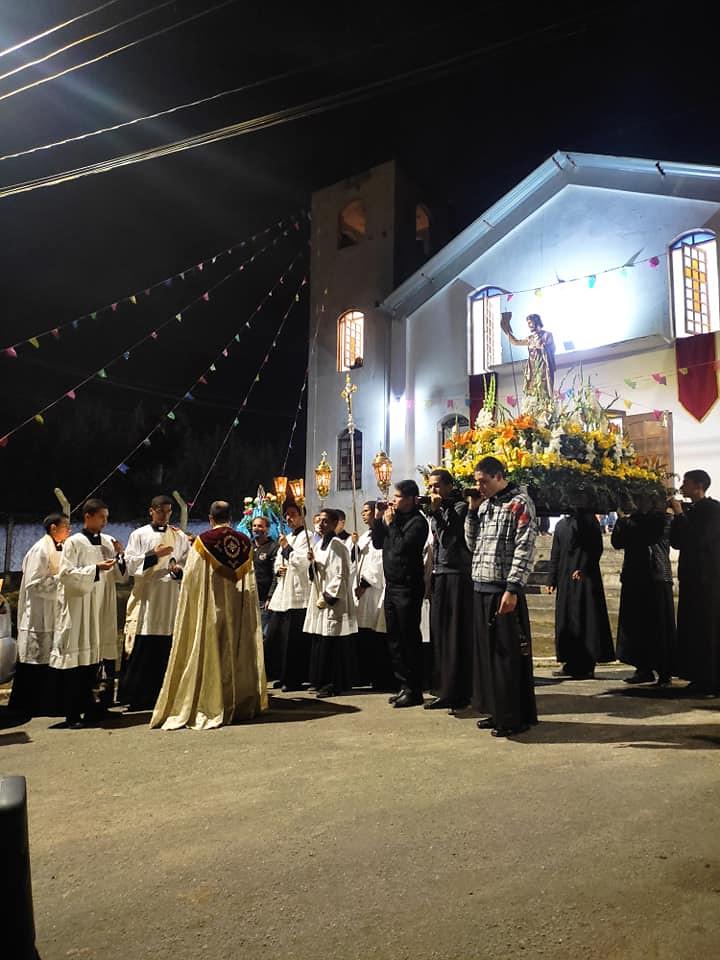 Brasil - Solemnidad de San Juan Bautista en la Parroquia Divino Espírito Santo