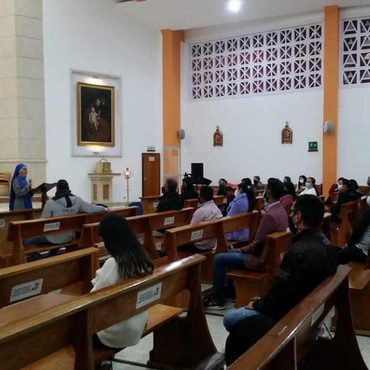 Ecuador - Apostolado vocacional en Colombia