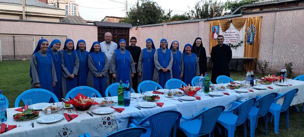 Tayikistán - Fundación del nuevo Monasterio