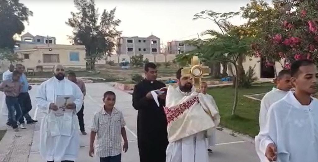 Egipto - Solemnidad de Corpus Christi en el Hogar