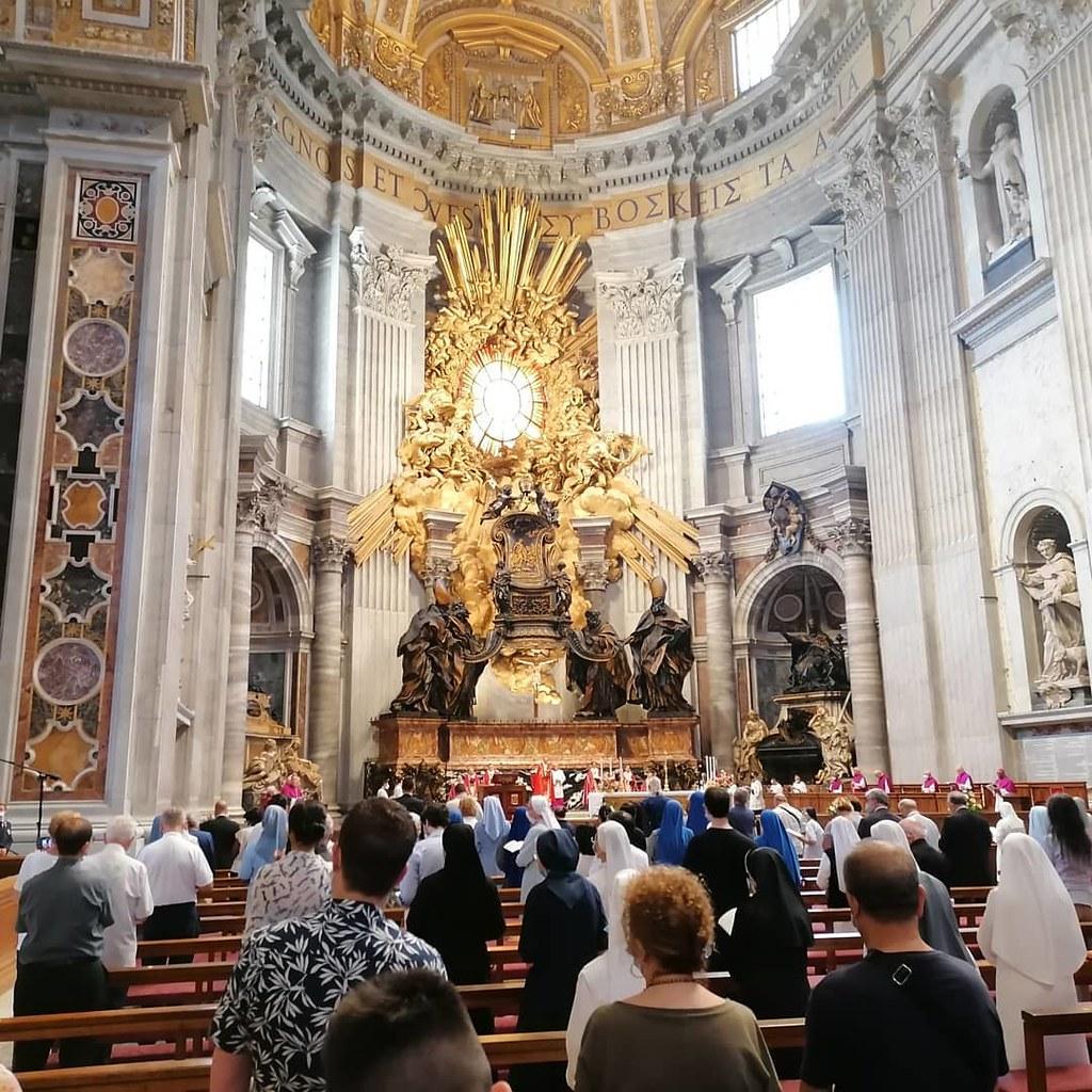 Italia - Solemnidad de San Pedro y San Pablo en el Vaticano