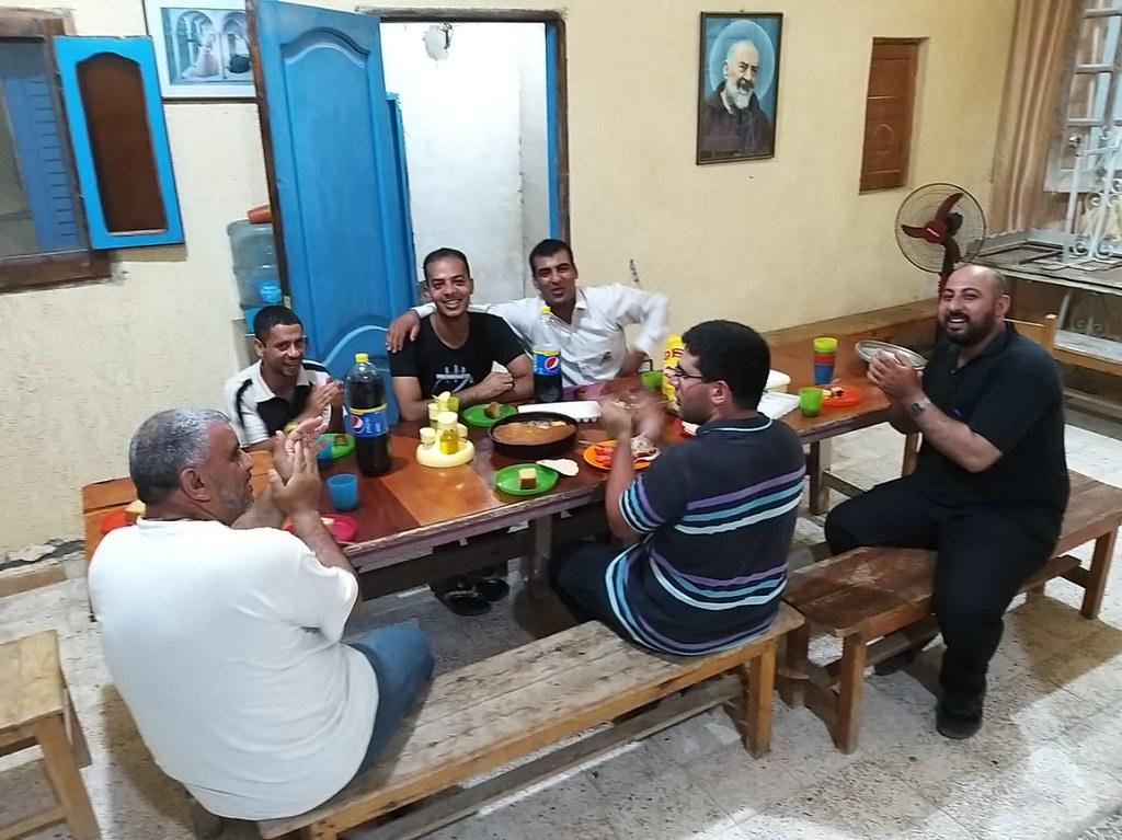 Egipto – Cumpleaños del novicio Aemad en Alejandría