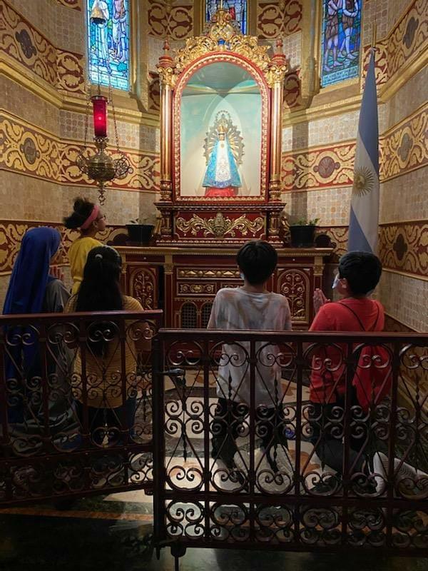 Estados Unidos - Preparación para la consagración a María para niños