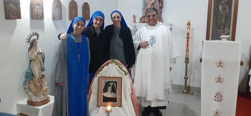 Argentina - 6° aniversario de fundación de la comunidad Beata María de Jesús Crucificado Petkovic en Casa Cuna la plata