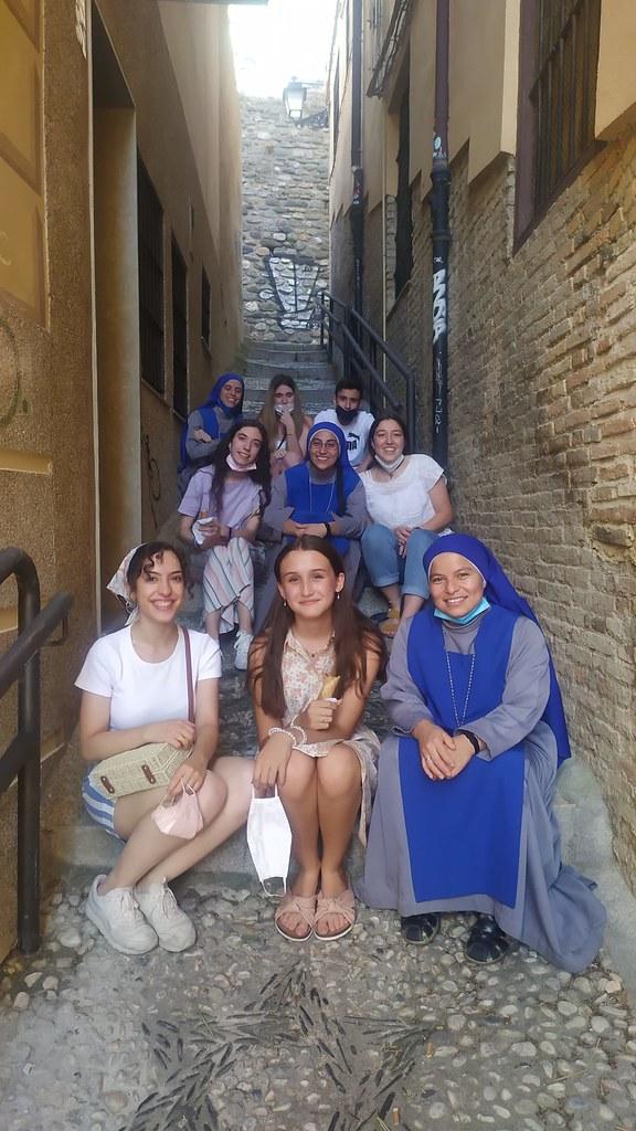 España - Salida con los jóvenes de la Iglesia San Pedro y San Pablo