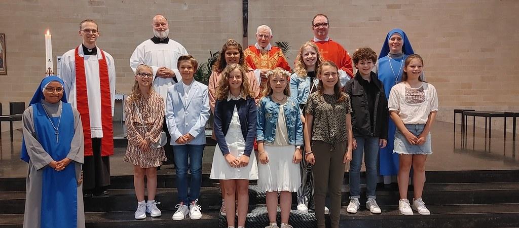 Holanda – Confirmación de 9 jóvenes en Bunde