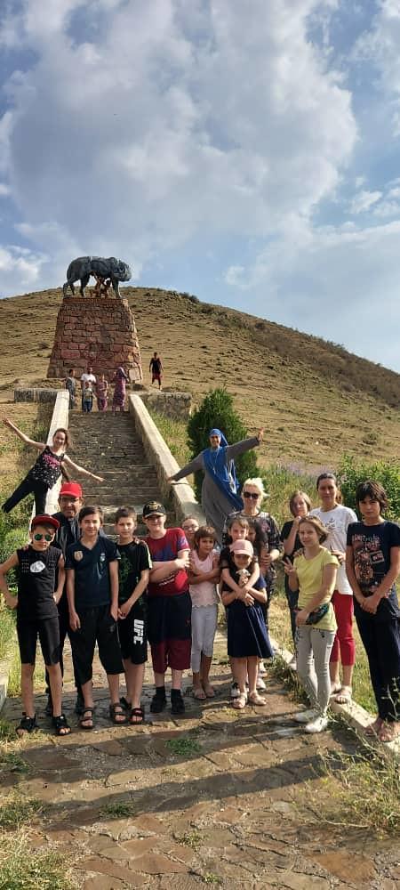 Tayikistán - Campamento de niños