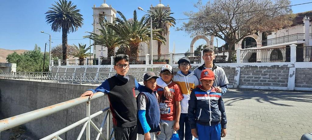 Perú - Salida con los niños del Hogar San Anibal di Francia