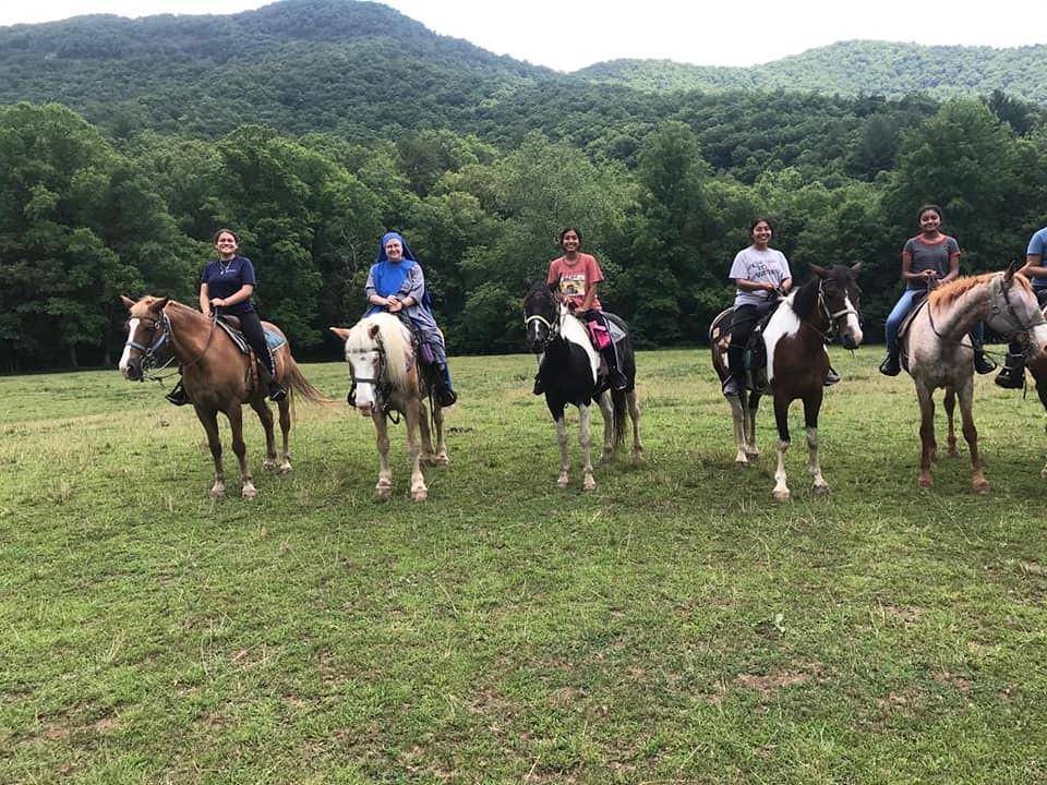 Estados Unidos - Campamento de niñas en Georgia