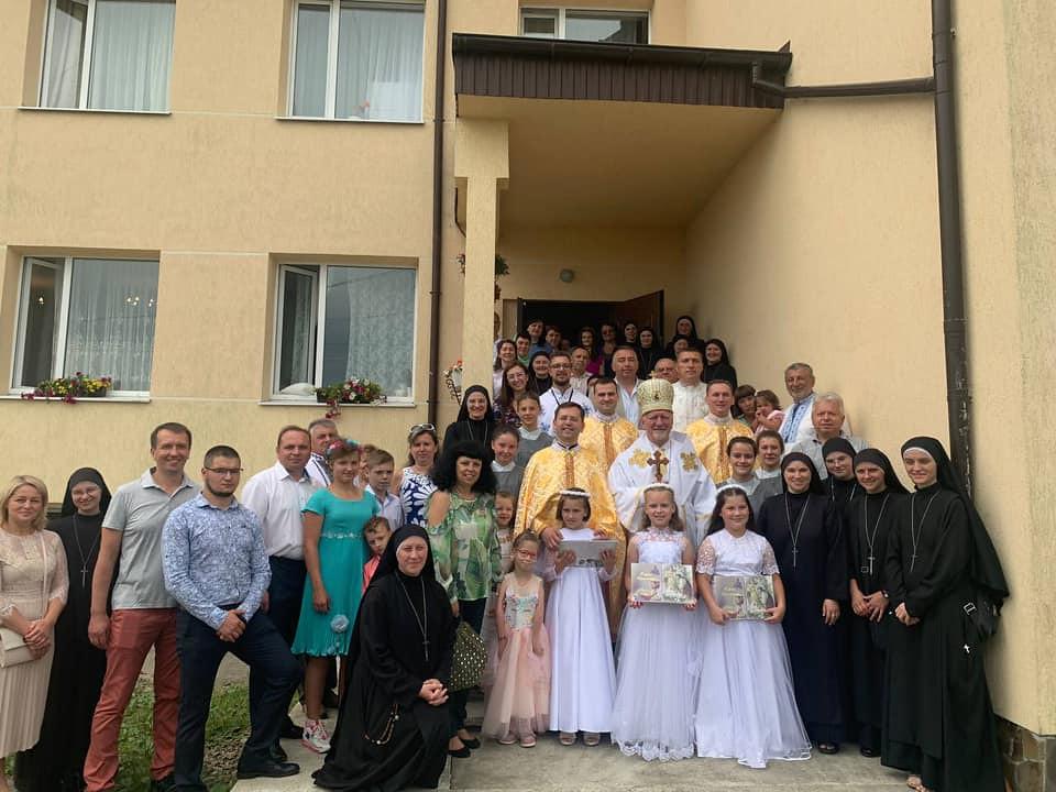 Ucrania - 10º Aniversario de la Casa de Misericordia
