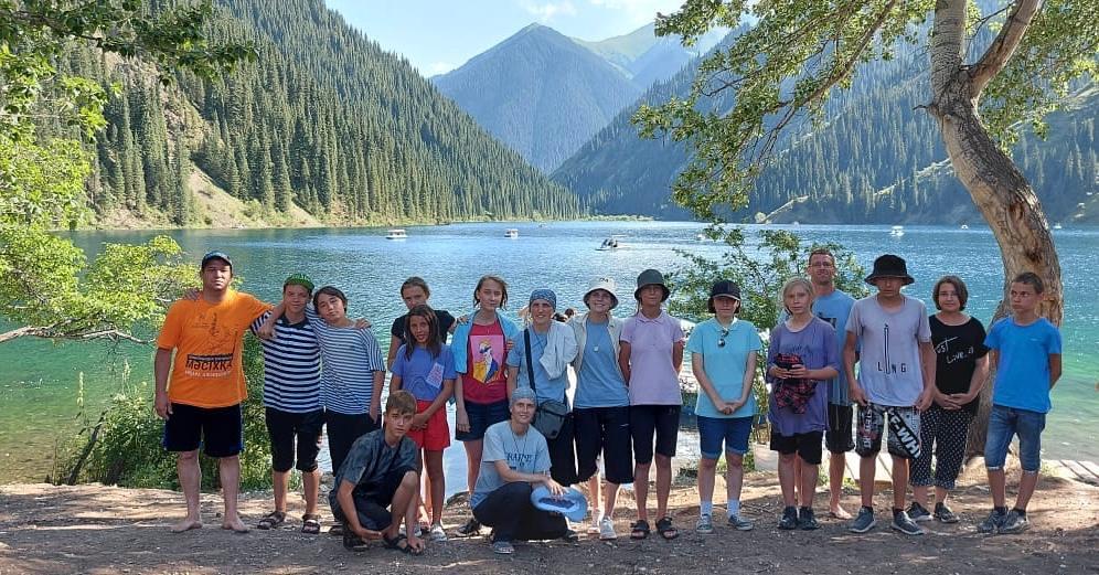 Kazajstán - Salida con los jóvenes
