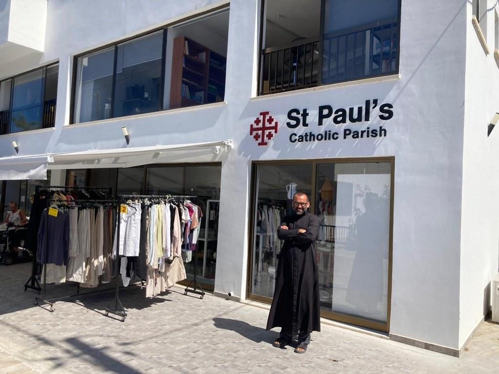 Chipre – Nueva oficina Parroquial