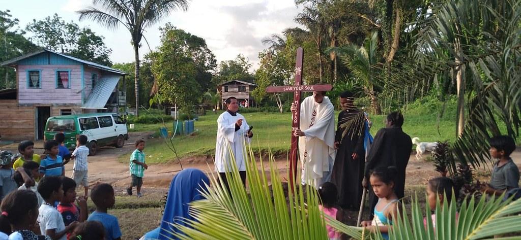 Guyana - Clausura de la misión popular
