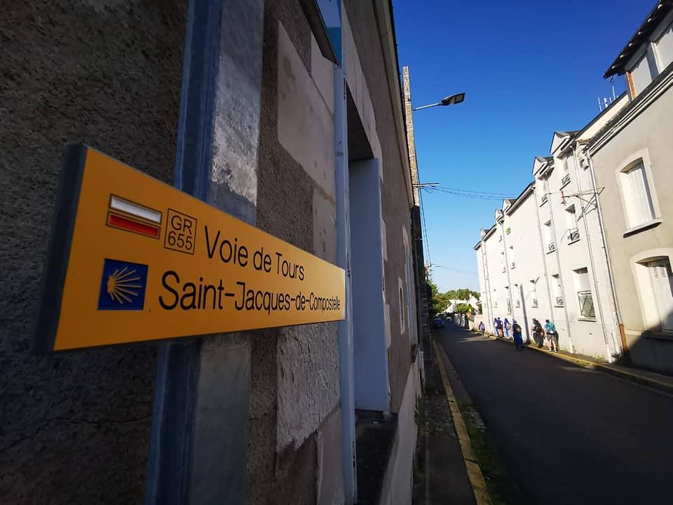Francia - Camino de Santiago desde Tours