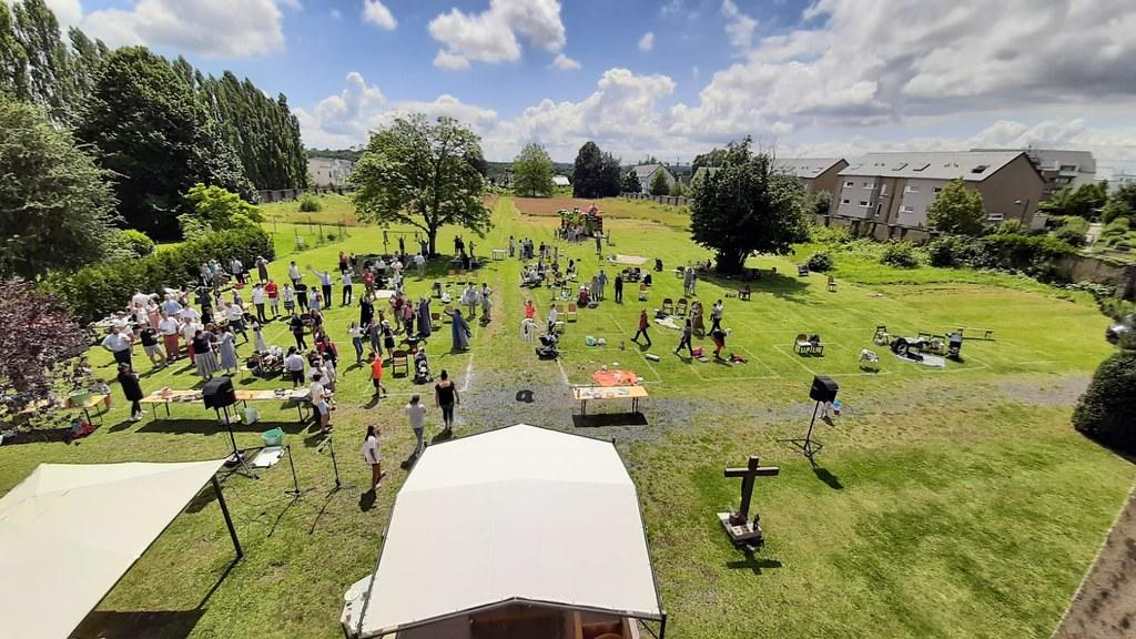 Luxemburgo - 10° aniversario de la comunidad de las Servidoras en Luxemburgo
