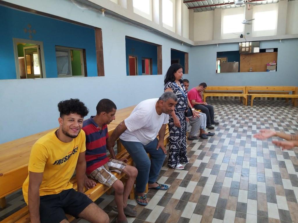 Egipto - Visita y ayuda de los benefactores en el Hogar Nuestra Señora de Guadalupe