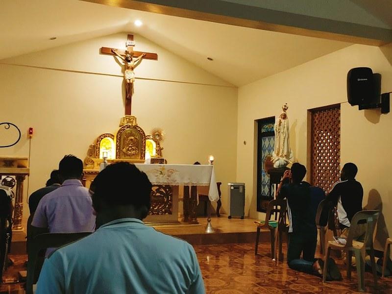 Filipinas - Ejercicios Espirituales para varones en el Seminario Mayor