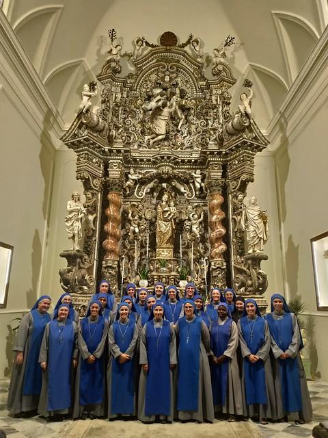 Italia - convivencia - peregrinación al Santuario della Madonna de Gibilmmana