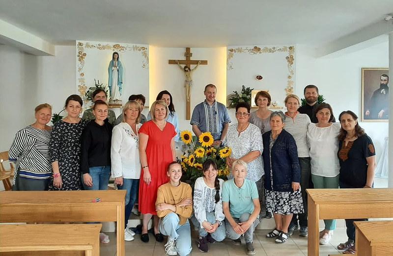 Ucrania - ejercicios espirituales para mujeres en Vinnytsia