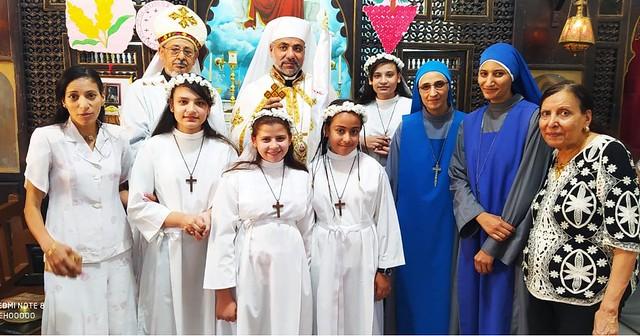 Egipto - Primeras comuniones en Garagos