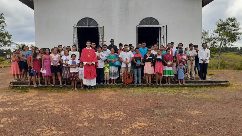 Guyana - visita a las capillas