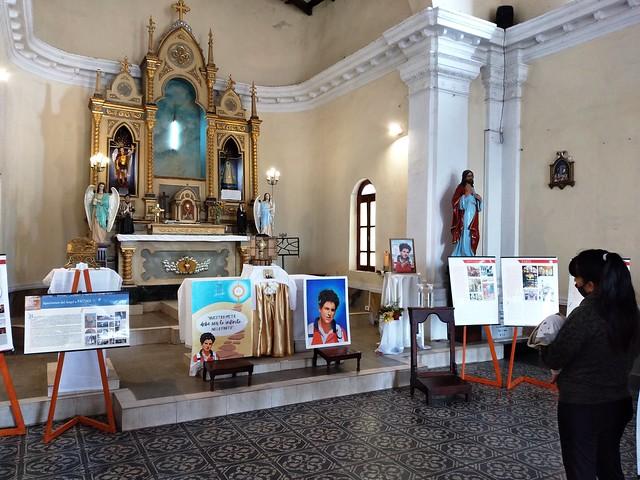 Argentina - Sunchocorral - Visita de la reliquia del beato Carlo Acútis