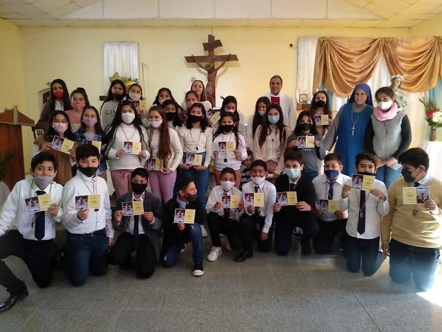 Buenos Airies - -Consagración a la Virgen de los niños de Confirmación