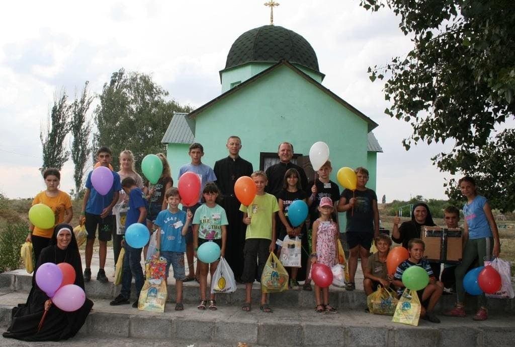 Ucrania - Campamento de verano en Donetsk