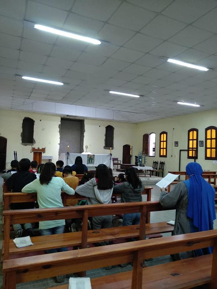 Argentina - Grupo de Niños Adoradores en la parroquia de Los Juríes