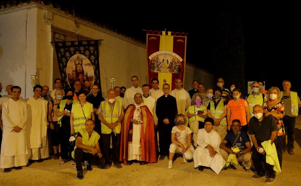España - Procesión nocturna de los Mártires Benedictinos del Pueyo