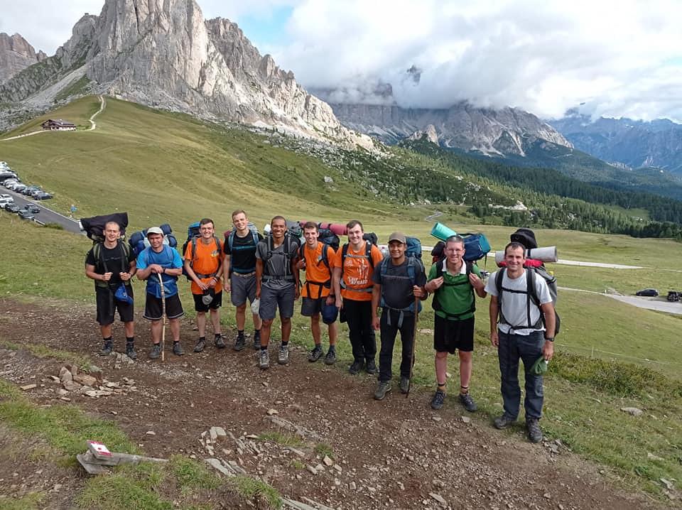 Italia - Campamento de verano del Seminario en los Alpes