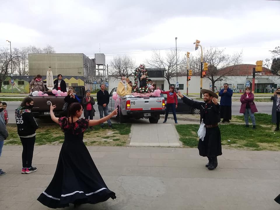 Argentina - Fiesta patronal Santa Rosa de Lima en La Plata