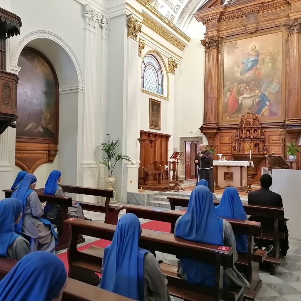Italia - Santuario de la Virgen de Gibilmanna en Sicilia