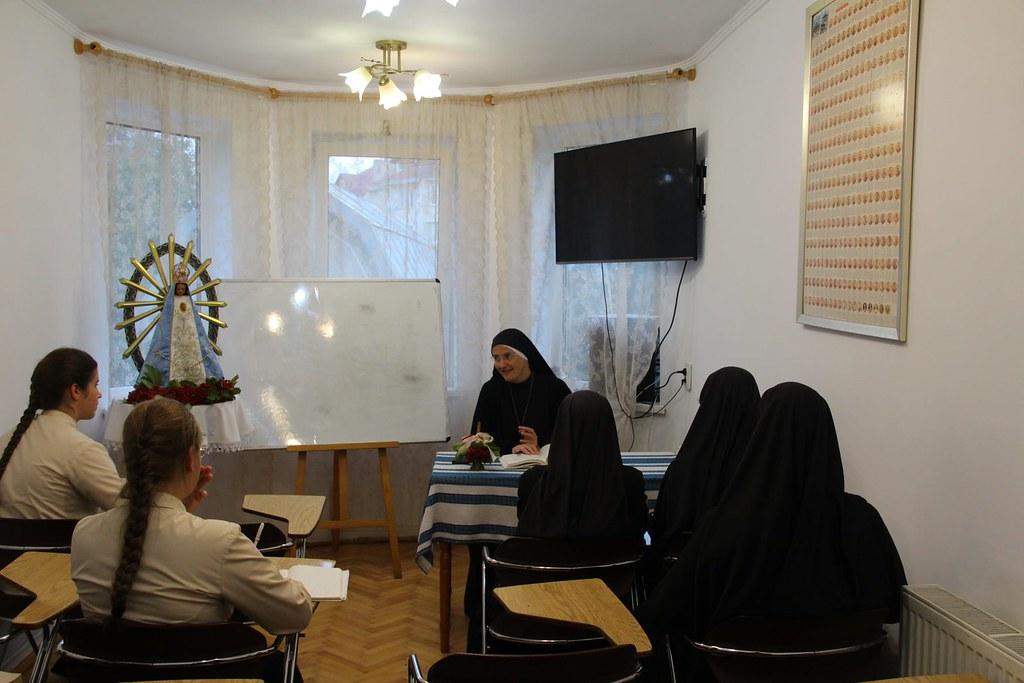 Ucrania - Inicio de clases de formacíon