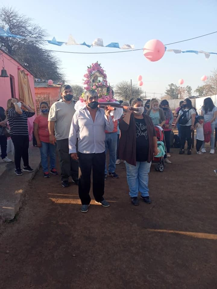 Argentina - Fiesta de Santa Rosa en el barrio Corvalán de Los Juríes