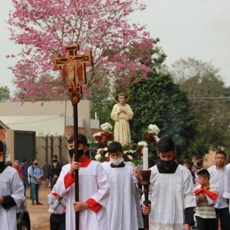 Paraguay - Procesión de San Tarcisio