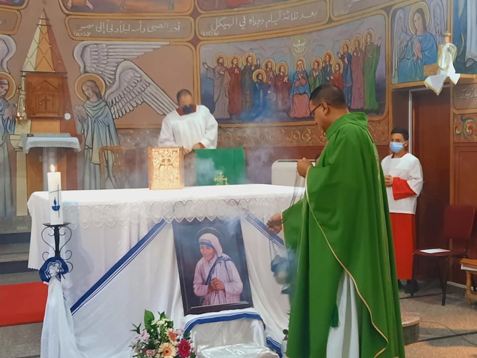 Gaza - Celebración de Santa Madre Teresa