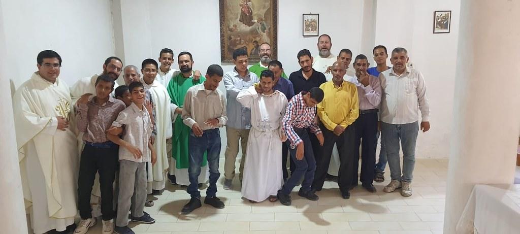 Egipto - Misa en el Hogar Nuestra Señora de Guadalupe en El King Maryout - Alejandría