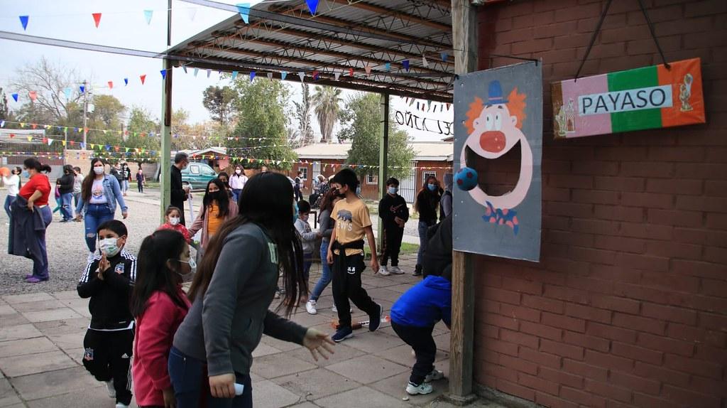 Chile - Día del niño en la parroquia Jesús el Buen Pastor