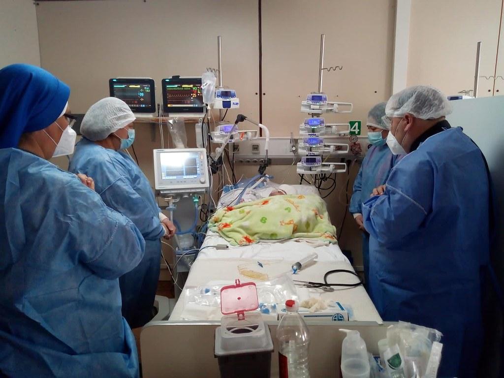 Argentina - Apostolado en el hospital de San Luis
