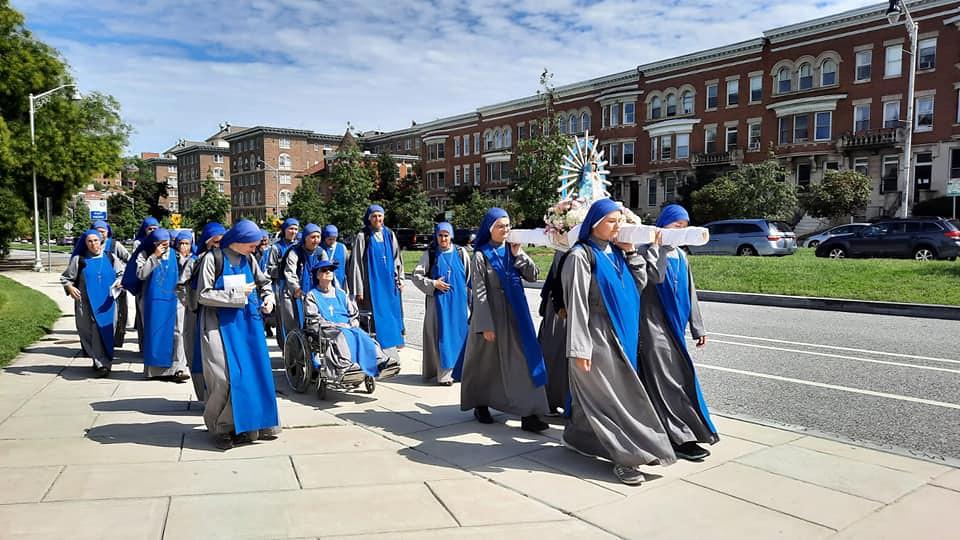 Estados Unidos - Peregrinación mariana el primer sábado