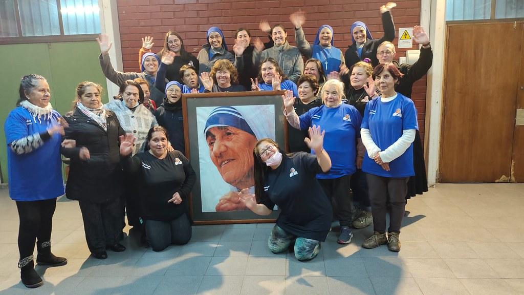 Chile - Agradecimiento a las voluntarias del comedor Santa Teresa de Calcuta