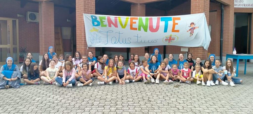 Italia - Campamento de verano en la Parroquia B. Pier Giorgio Frassati en Turín