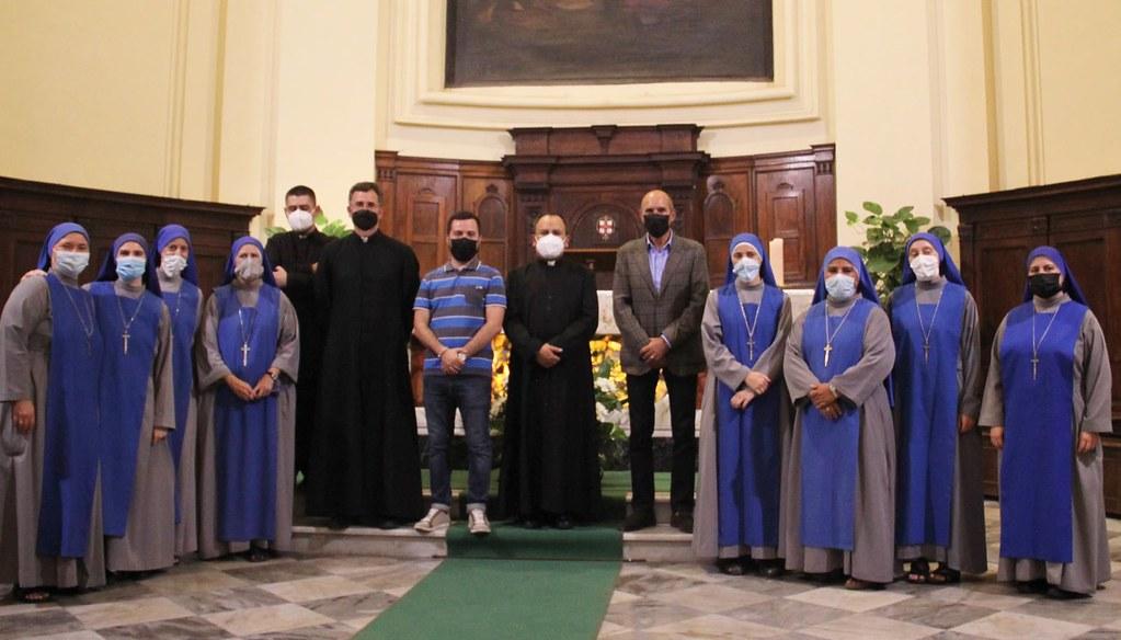 Italia - Inauguración de la Comunidad 'Virgen de la Victoria' en Montalto de Castro