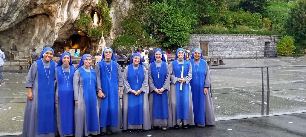 Francia - Peregrinación a pie desde Betharram a Lourdes