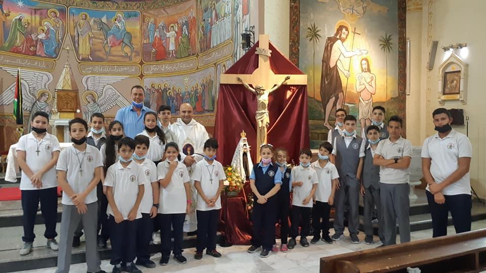 Gaza - Escuela Primaria del Patriarcado Latino de Jerusalén en Gaza