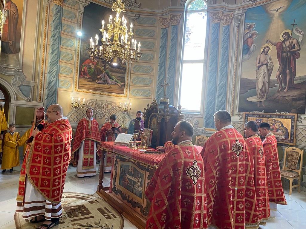 Ucrania - Fiesta del Martirio de San Juan Bautista