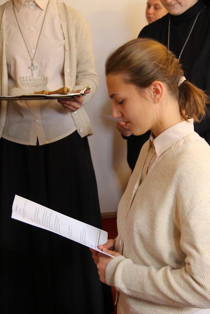 Ucrania - Recepción de la Cruz de Matará